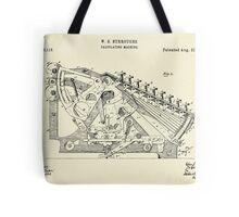 Calculating Machine-1888 Tote Bag