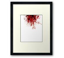 Blood (Last Breath) Framed Print