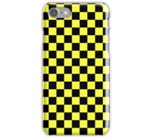 Yellow Plad iPhone Case/Skin