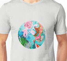 Underwater Japanese Garden Unisex T-Shirt