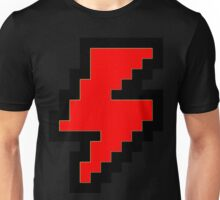 8 bit lightning bolt Unisex T-Shirt