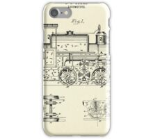 Locomotive-1886 iPhone Case/Skin