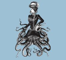 Victorian Lady Squid One Piece - Short Sleeve