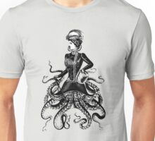 Victorian Lady Squid Unisex T-Shirt
