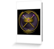 ORION - Reign Logo Greeting Card
