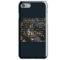 mountain ash iPhone Case/Skin