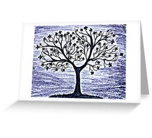 Blossoming Tree Greeting Card