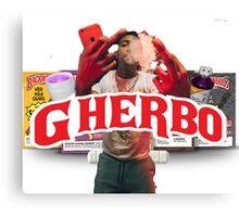 G HERBO AKA LIL HERB HIPHOP SHIRT Canvas Print