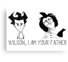 Wilson, I am your father Canvas Print