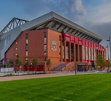 Anfield - The New Main Stand by Paul Madden