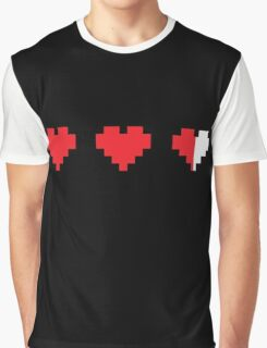 Videogame energy. Gaming life indicator Graphic T-Shirt