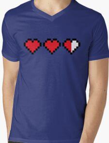 Videogame energy. Gaming life indicator Mens V-Neck T-Shirt