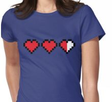 Videogame energy. Gaming life indicator Womens Fitted T-Shirt