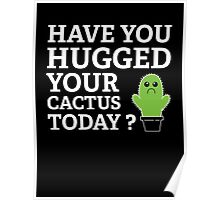 Have You Hugged Your Cactus Today? Poster