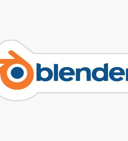 Blender logo Sticker