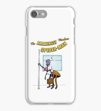 Mundane Spider-man iPhone Case/Skin