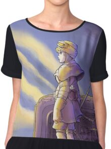 THE SCAVENGER - STAR WARS/GHIBLI MASHUP  Chiffon Top