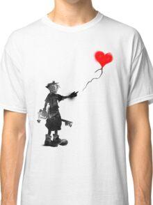 the boy,the key,the balloon Classic T-Shirt