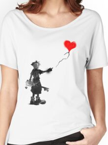 the boy,the key,the balloon Women's Relaxed Fit T-Shirt