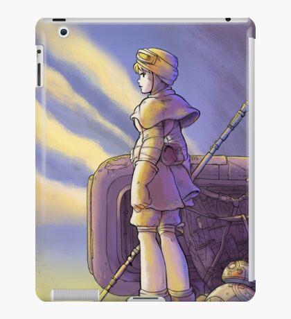 THE SCAVENGER - STAR WARS/GHIBLI MASHUP  iPad Case/Skin