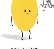 Bitter Lemon Sticker