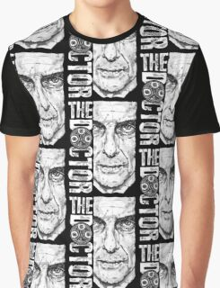 New Beginnings Number 12 - Doctor Who - Peter Capaldi Graphic T-Shirt