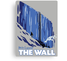Welcome The Wall Canvas Print
