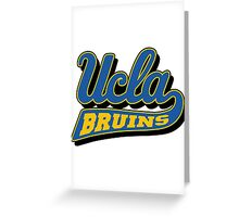 UCLA Bruins  Greeting Card