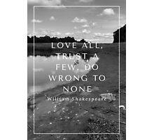 love all Photographic Print