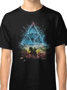 triforce storm-rainbow version Classic T-Shirt