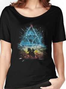 triforce storm-rainbow version Women's Relaxed Fit T-Shirt