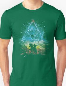 triforce storm-rainbow version T-Shirt