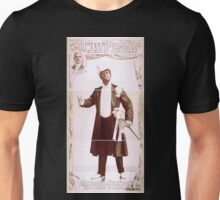 Performing Arts Posters William H Wests Big Minstrel Jubilee 1868 Unisex T-Shirt