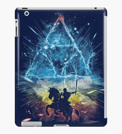 triforce storm-rainbow version iPad Case/Skin