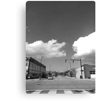 Minimal Traffic Canvas Print