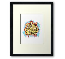 A Tribe Called Quest Logo Framed Print
