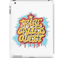 A Tribe Called Quest Logo iPad Case/Skin