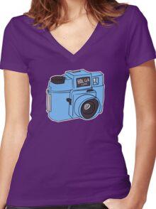 Holga 120N Women's Fitted V-Neck T-Shirt
