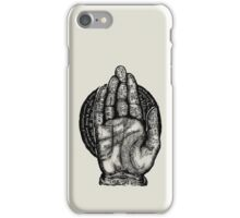 The Helping Hand iPhone Case/Skin