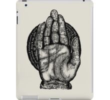 The Helping Hand iPad Case/Skin