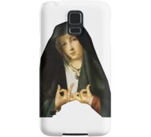 Gang Sign Nun Samsung Galaxy Case/Skin