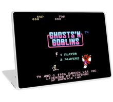 Ghosts 'N Goblins Title Screen Laptop Skin