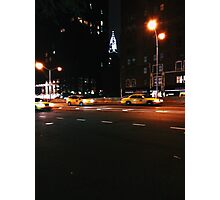 Chrysler by Night Photographic Print