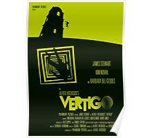 Alfred Hitchcock's Vertigo Poster