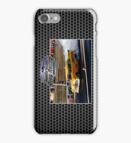 Australian Drag Racing History 55 Chev Retro iPhone Case/Skin
