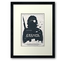 Escape From New York Framed Print