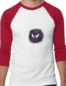 Ghostly Gastly Men's Baseball ¾ T-Shirt