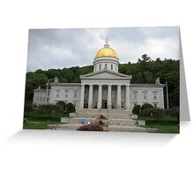 Vermont State House Greeting Card