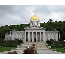 Vermont State House Photographic Print