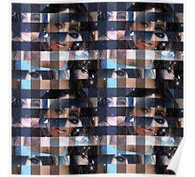 Megan Fox - Pixel Art (Square) Poster